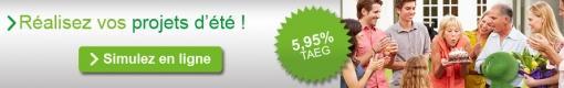 Votre prêt personnel à 5,95% TAEG!
